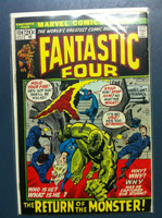 Fantastic Four #124 The Return of the Monster Jul 72 Very Good
