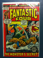 Fantastic Four #125 The Monster's Secret Aug 72 Fine to Very Fine