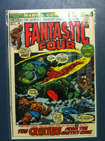 Fantastic Four #126 The Way It Began Sep 72 Excellent