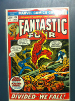 Fantastic Four #128 Death in a Dark and Lonely Place Nov 72 Very Good