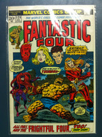 Fantastic Four #129 The Frightful Four - Plus One Dec 72 Excellent