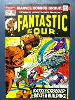 Fantastic Four #130 Battleground: The Baxter Building Jan 73 Excellent