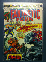 Fantastic Four #138 Madness Is … The Miracle Man Sep 73 Excellent