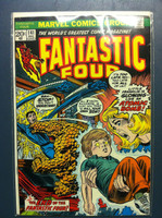 Fantastic Four #141 The End of the Fantastic Four Dec 73 Very Good to Excellent