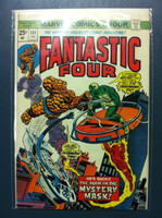 Fantastic Four #154 The Man in the Mystery Mask Jan 75 Fine to Very Fine
