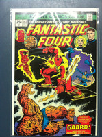 Fantastic Four #163 Finale! Oct 75 Fine