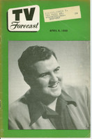 1950 TV FORECAST April 8 Bob Murphy (32 pg) Chicago edition Very Good to Excellent  [Lt toning, wear on binding; contents fine]