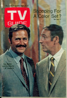 1968 TV Guide Sep 21 Rowan and Martin Oregon State edition Very Good - No Mailing Label  [Wear and creasing on cover; contents fine]