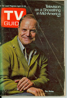 1972 TV Guide Apr 22 Don Rickles St. Louis edition Very Good - No Mailing Label  [Heavy creasing and wear on cover, contents fine]