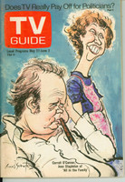 1972 TV Guide May 27 All in the Family Cleveland edition Excellent to Mint - No Mailing Label  [Very clean example]