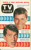 1953 TV Guide Jun 5 Dean Martin and Jerry Lewis Chicago edition Excellent to Mint - No Mailing Label  [Lt wear on cover, ow clean]