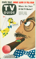 1953 TV Guide Jul 24 Groucho Marx Northwest edition Near-Mint - No Mailing Label  [Lt wear on cover; ow very clean]