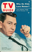 1953 TV Guide Dec 11 Jack Webb Midwest edition Near-Mint - No Mailing Label  [Lt wear on cover, ow very clean; address stamped on reverse]