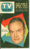 1953 TV Guide Dec 18 Bob Hope Chicago edition Very Good to Excellent - No Mailing Label  [Lt wear on cover, ow clean]
