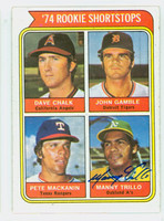 Manny Trillo AUTOGRAPH 1974 Topps #597 CARD IS CLEAN NMT  [SKU:TrilM5944_T74BBJjl]