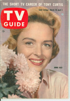 1960 TV Guide Mar 26 Donna Reed Central California edition Excellent - No Mailing Label  [Lt wear on cover; ow very clean]