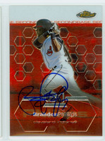 Brandon Phillips AUTOGRAPH 2003 Topps Finest Indians 