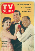 1960 TV Guide Jun 11 Cast of Bachelor Father Scranton-Wilkes Barre edition Very Good - No Mailing Label  [Heavy wear along binding, creasing on cover; contents fine]