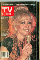 1980 TV Guide Apr 12 Olivia Newton-John Maine edition Excellent - No Mailing Label  [Wear on both covers; contents fine]