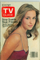 1980 TV Guide Aug 23 Genie Francis of General Hospital Philadelphia edition Very Good  [Lt moisture on cover; label removed, contents fine]