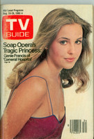 1980 TV Guide Aug 23 Genie Francis of General Hospital Hartford-New Haven edition Excellent - No Mailing Label  [Scuffing and wear on cover; contents fine]