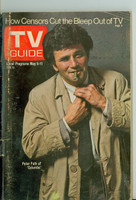 1973 TV Guide May 5 Peter Falk of Columbo Eastern New England edition Very Good - No Mailing Label  [Loose at the staples, wear and scuffing on cover; contents fine]
