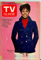 1968 TV Guide Dec 14 Diahann Carroll of Julia Eastern Illinois edition Very Good to Excellent  [Sm tape on corners of cover; label removed, contents fine]