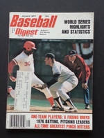 1977 Baseball Digest January World Series Excellent