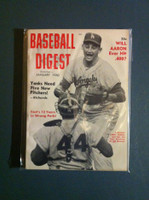 1960 Baseball Digest January John Roseboro - Larry Sherry Excellent to Mint