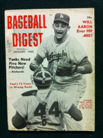 1960 Baseball Digest January John Roseboro - Larry Sherry Very Good