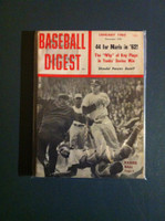 1962 Baseball Digest January Elston Howard - Ralph Terry Excellent to Mint