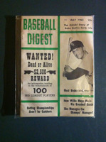 1962 Baseball Digest May Jim Landis Excellent to Mint