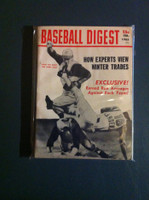1965 Baseball Digest February Winter Trades Excellent
