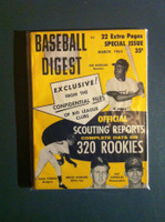 1965 Baseball Digest March Scouting Reports Near-Mint