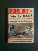 1965 Baseball Digest July Yankees' Six Mistakes Excellent to Mint