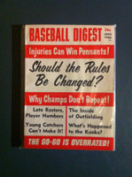 1966 Baseball Digest June Should Rules Be Changed? Near-Mint Plus