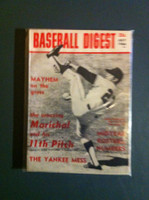 1966 Baseball Digest July Juan Marichal (First Cover) Excellent to Excellent Plus