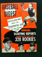 1967 Baseball Digest March Scouting Reports (Mike Epstein) Good to Very Good
