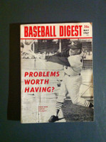 1967 Baseball Digest May Roger Maris Excellent