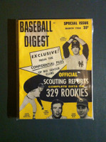 1968 Baseball Digest March Scouting Reports Near-Mint