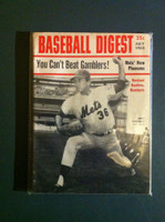 1968 Baseball Digest July Jerry Koosman Very Good to Excellent