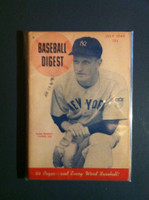 1945 Baseball Digest July Hank Bowory Excellent