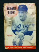 1945 Baseball Digest July Hank Bowory Poor