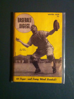1945 Baseball Digest November Al Lopez Very Good to Excellent