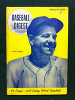 1947 Baseball Digest February Bucky Harris Very Good