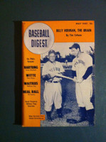 1947 Baseball Digest May Hank Greenberg - Billy Herman Excellent