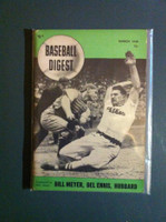 1948 Baseball Digest March Del Ennis Excellent to Mint