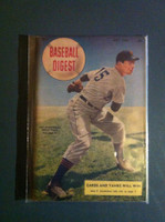 1948 Baseball Digest May Art Houtteman Excellent to Mint
