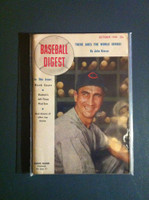 1948 Baseball Digest October Hank Sauer Excellent