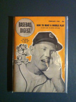 1949 Baseball Digest February Red Rolfe Excellent to Mint